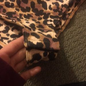 Other - Leopard print body suit